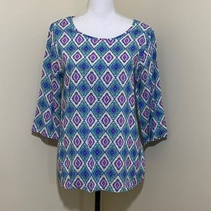 NWT MIAMI Long Sleeves Blouse from Francescas Sz:M